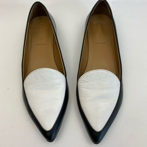 Everlane the modern pointed loafers All leather